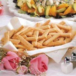 Parmesan Cheese Straws recipe