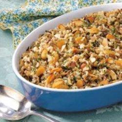 Almond Wild Rice recipe