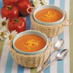 Tomato Soup with a Twist recipe