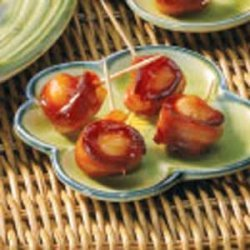 Bacon-Wrapped Water Chestnuts recipe