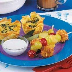 Fruit with Marshmallow Dip recipe