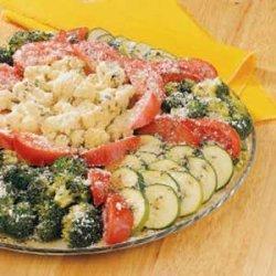 Herbed Veggie Platter recipe