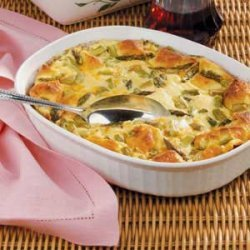 Asparagus Strata recipe