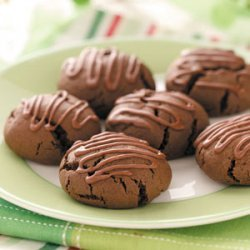 Frosted Cocoa Cookies recipe
