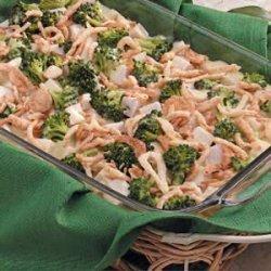 Turkey Broccoli Hollandaise recipe