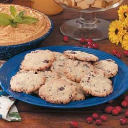 Cranberry Crispies recipe