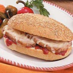 Italian Pork Hoagies recipe