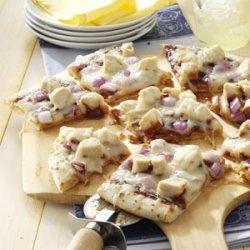 Barbecued Chicken Pizza recipe