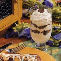 Peanut Butter Cream Parfaits recipe
