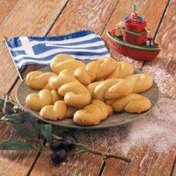 Greek Holiday Cookies recipe