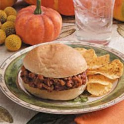Pumpkin Burgers recipe