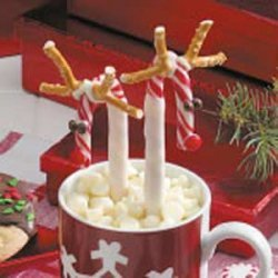 Candy Cane Reindeer recipe