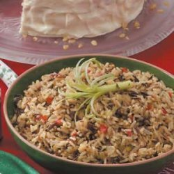 Holiday Wild Rice recipe