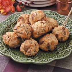 Pecan Cheddar Snacks recipe