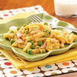 Cheesy Tuna Mac recipe