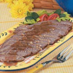 Beef Brisket in Gravy recipe