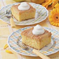Caramel Pear Cake recipe