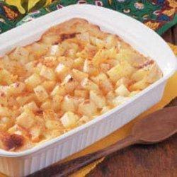 Au Gratin Party Potatoes recipe
