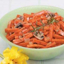 Carrot Mushroom Medley recipe