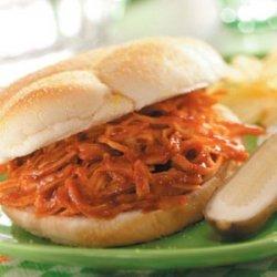 Barbecued Turkey Sandwiches recipe