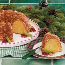 Almond Eggnog Pound Cake recipe