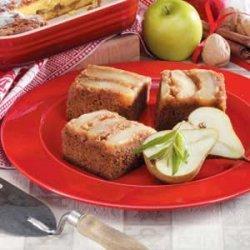 Pear Gingerbread Cake recipe