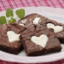 Valentine Brownies recipe