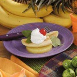 Banana Delight Dessert recipe