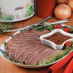 Tender Beef Brisket recipe