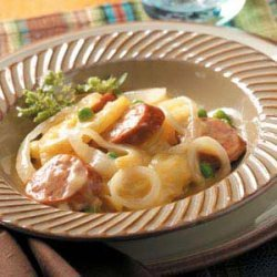 Potato Sausage Supper recipe