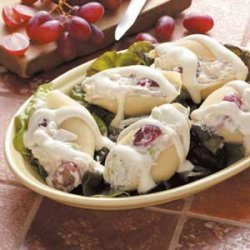 Chicken Salad Shells recipe