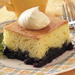 Blueberry Lemon Cake recipe
