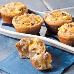 Ham Potato Puffs recipe