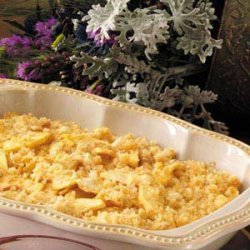 Scalloped Apples Casserole recipe