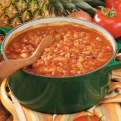Baked Beans with Pineapple recipe