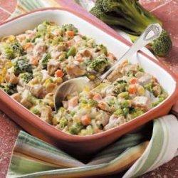 Veggie Turkey Casserole recipe
