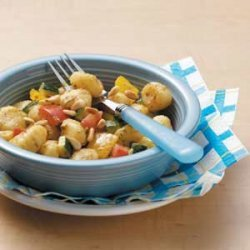 Gnocchi with Pesto Sauce recipe