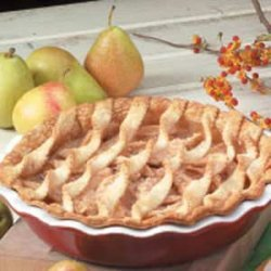 Fresh Pear Pie recipe