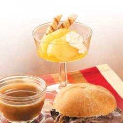 Pears in Orange Sauce recipe
