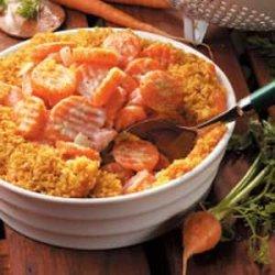 Horseradish Creamed Carrots recipe