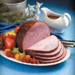 Holiday Glazed Ham recipe