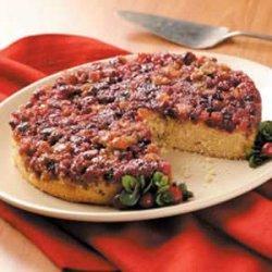 Cranberry Cornmeal Cake recipe