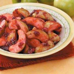 Cranberry Apple Saute recipe