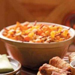 Nacho Snack Mix recipe
