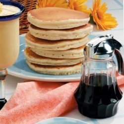 Pancake Stack with Syrup recipe
