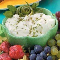 Disappearing Fruit Dip recipe