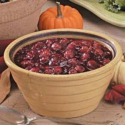 Cherry Cranberry Sauce recipe
