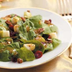 Cranberry Spinach Salad recipe