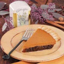 Mincemeat Pumpkin Pie recipe