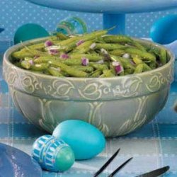 Chilled Green Beans Italiano recipe
